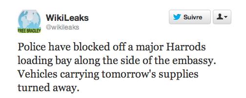 tweet wikileaks