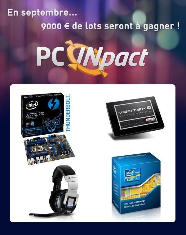 Concours PC Inpact Rentrée 2012