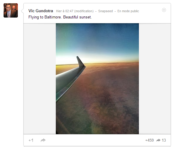 Snapseed google+