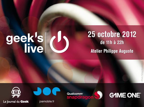 Geek's Live 5 Journal du Geek 2012