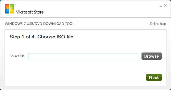 Windows ISO USB Tool