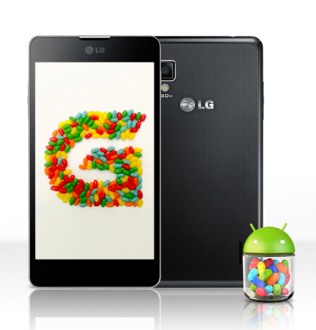 LG optimus jelly bean