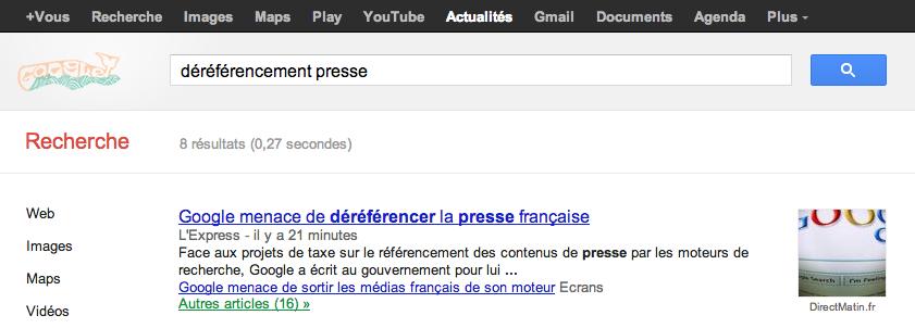 Google dereferencer