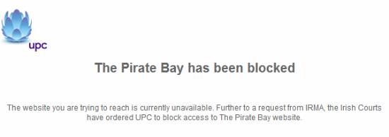 upc the pirate bay