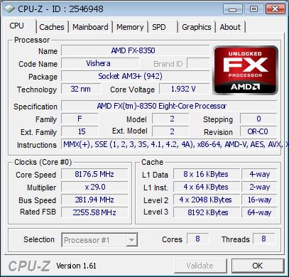 FX 8350 Record OC