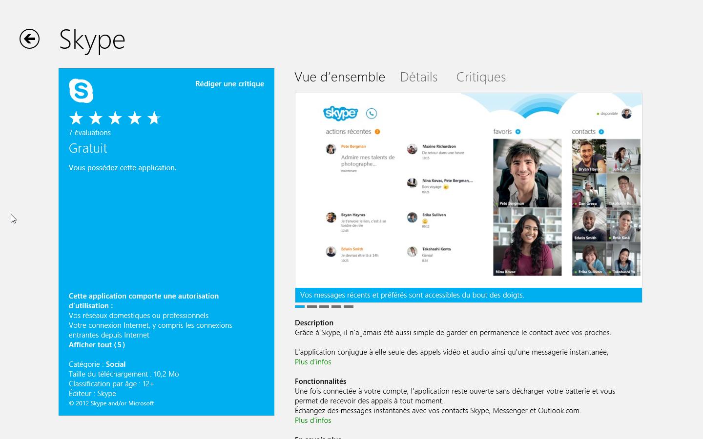 telecharger derniere version skype pour windows 10
