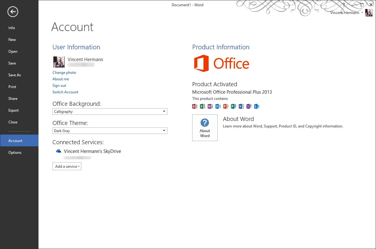 La version finale d 39 office 2013 ne force plus l 39 interface for Fenetre word 2013