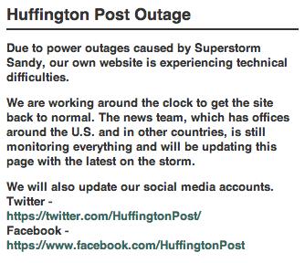 Huffington Post HS inondation Sandy