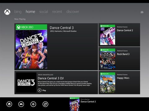 Xbox SmartGlass iOS