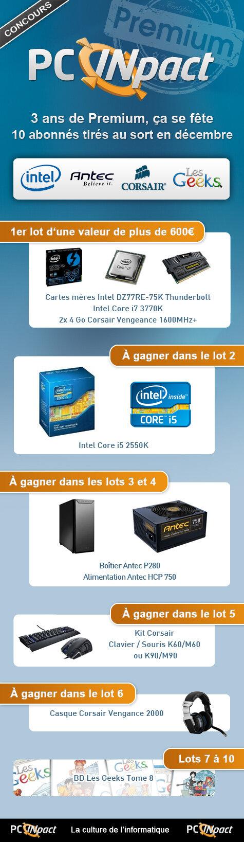Concours Novembre 2012 Premium