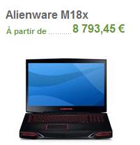 alienware dell 8500 €