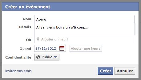 apéro facebook