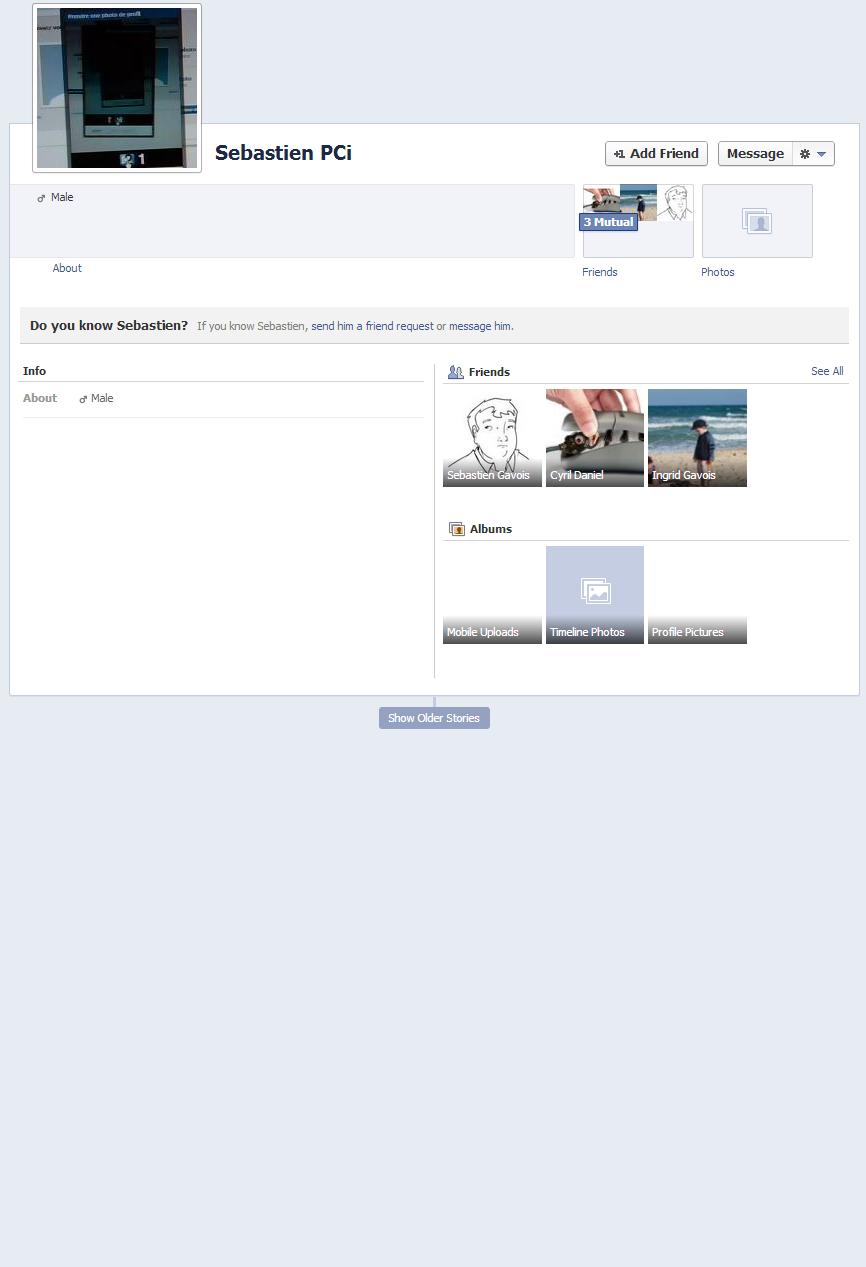 Facebook Avant Après Profil