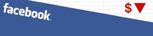 facebook bourse chute