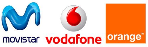 Orange Vodafone Movistar