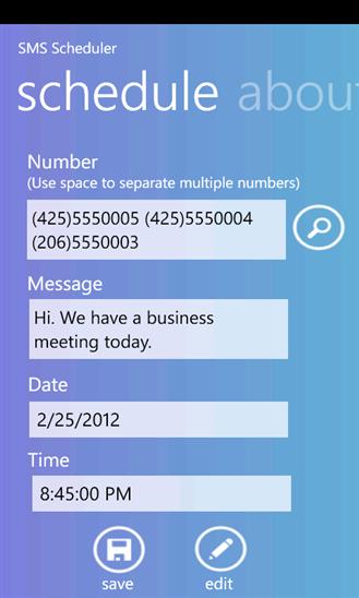 Schedule SMS Apps
