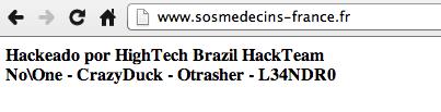 piratage sos-médecins
