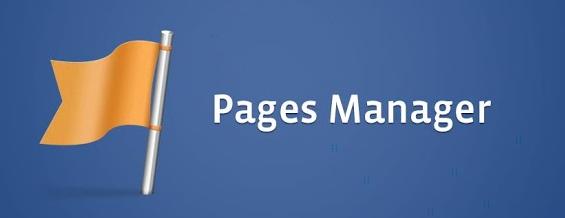 facebook gestionnaire de pages
