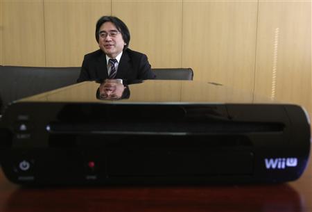 Iwata Wii U (Reuters)
