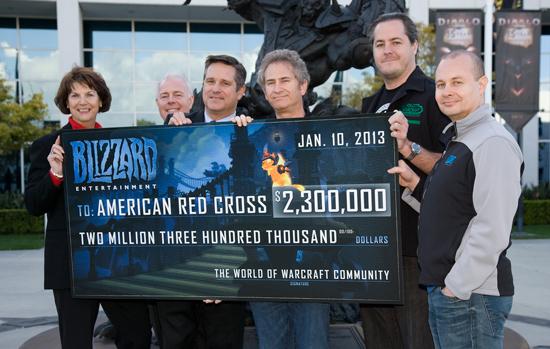 Blizzard Croix rouge