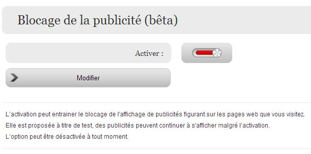 Free bloqueur publicité AdGate