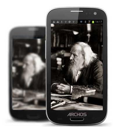 Archos smartphone montage
