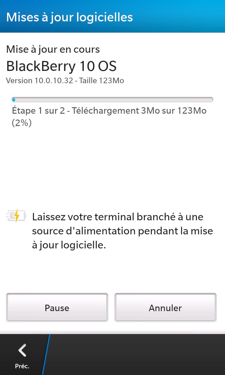 BlackBerry BB10 Update