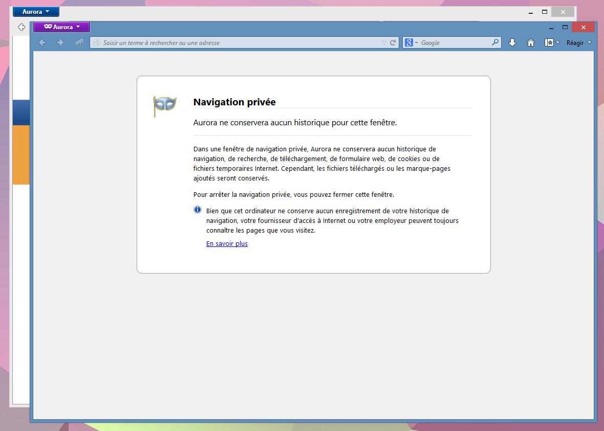 Firefox 20 propose enfin un mode de navigation priv e ind pendant - Comment ne laisser aucune trace de ma navigation ...