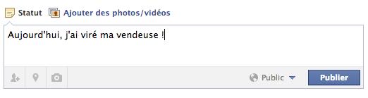 facebook licenciement