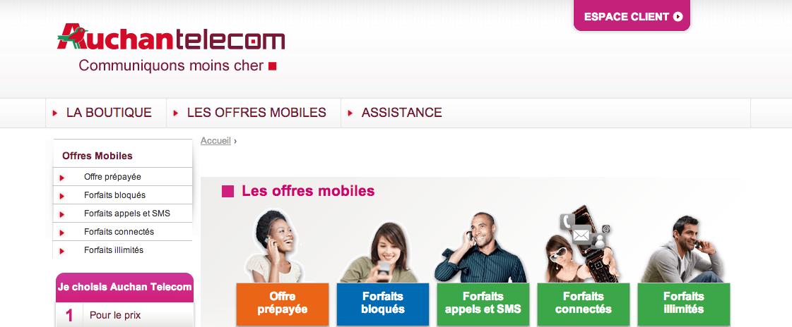 Carte Auchan Bloque.Tous Les Details Des Prochains Forfaits D Auchan Telecom
