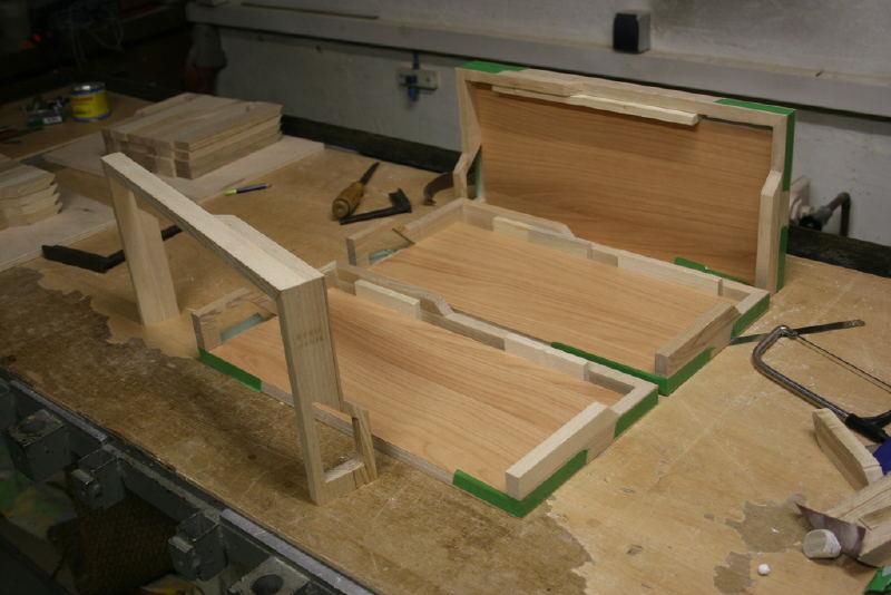 un superbe bo tier htpc en bois enti rement fabriqu. Black Bedroom Furniture Sets. Home Design Ideas