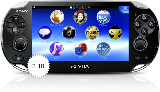 PS Vita 2.10