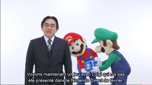 Iwata Nintendo Direct Avril 2013
