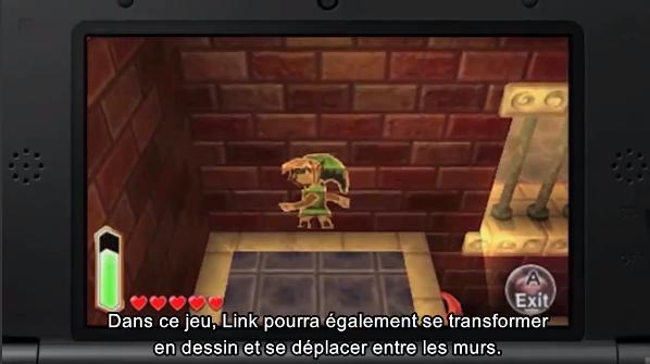Paper Link Zelda 3DS