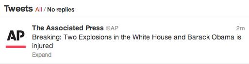 Twitter AP hack