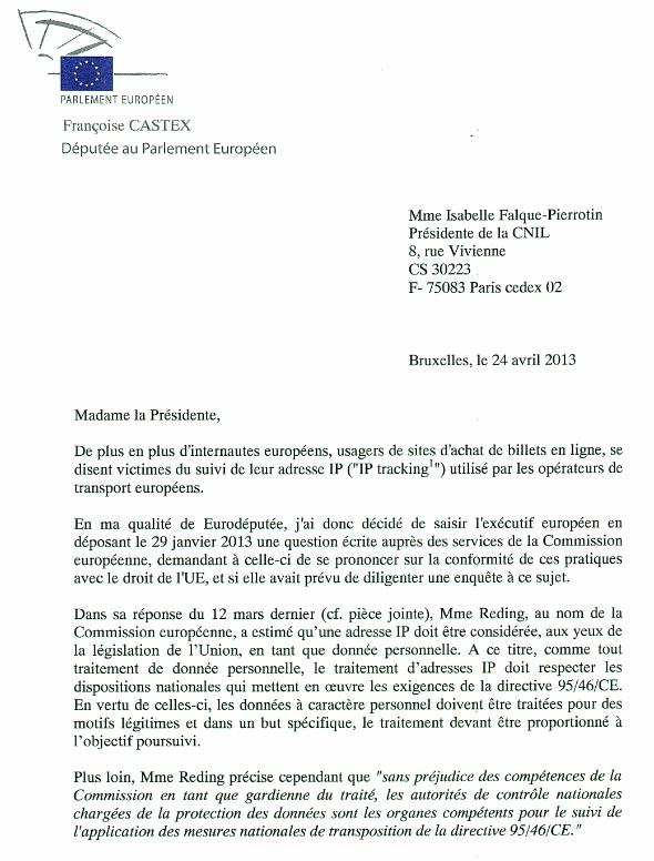 Castex CNIL