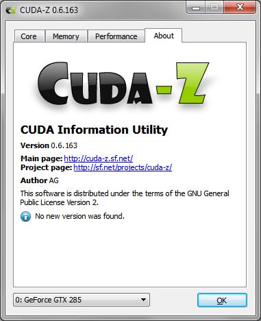 CUDA-Z