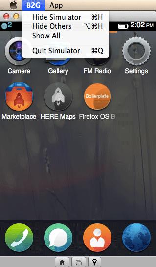Firefox OS Simulator 3.0