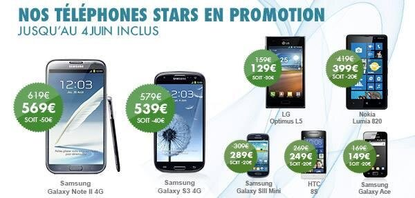 B&You reduction 50 € smartphone