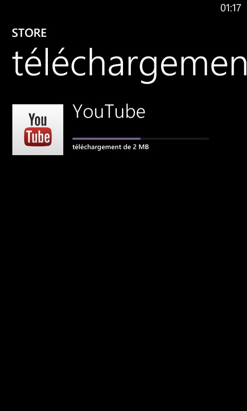 YouTube Windows Phone 8