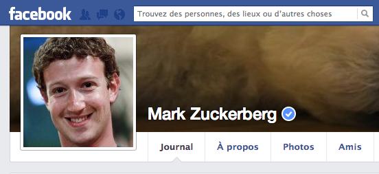 Facebook comptes vérifiés