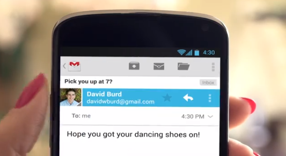 Android 4.3 Gmail