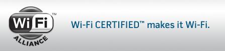 Wi-Fi Certifiée