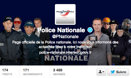 police twitter