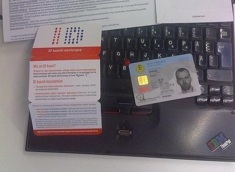 carte identité puce estonie