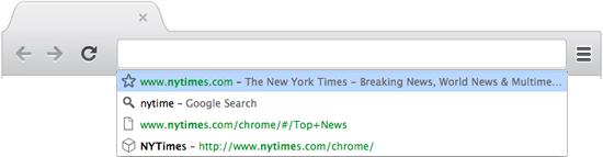 Omnibox Chrome