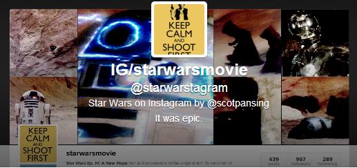 Star Wars Instagram