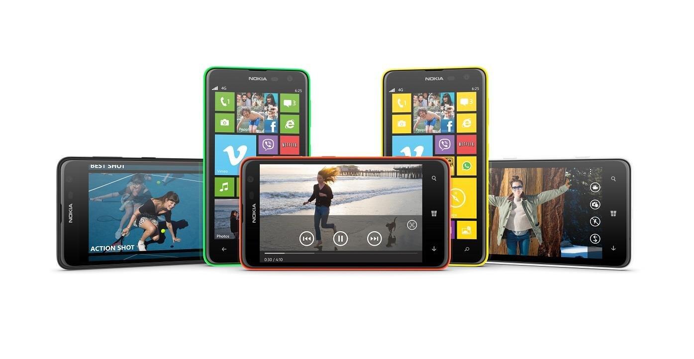 lumia 625 299 pour le windows phone 4g de 4 7 pouces sign nokia. Black Bedroom Furniture Sets. Home Design Ideas