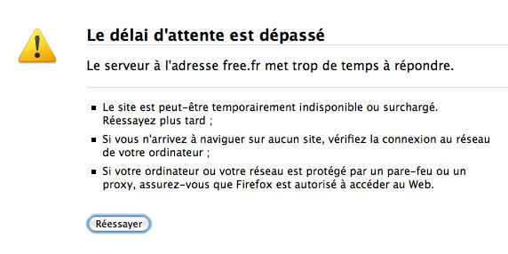 Free.fr HS