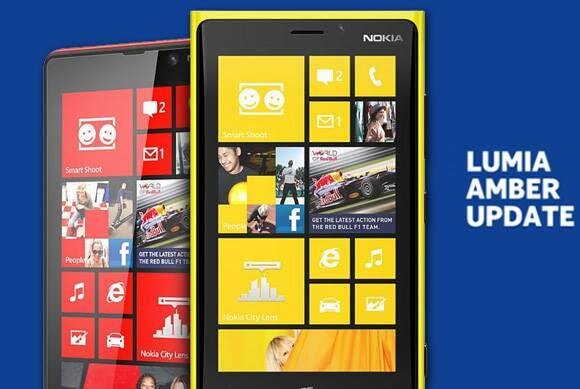 Nokia AMber Windows Phone 8